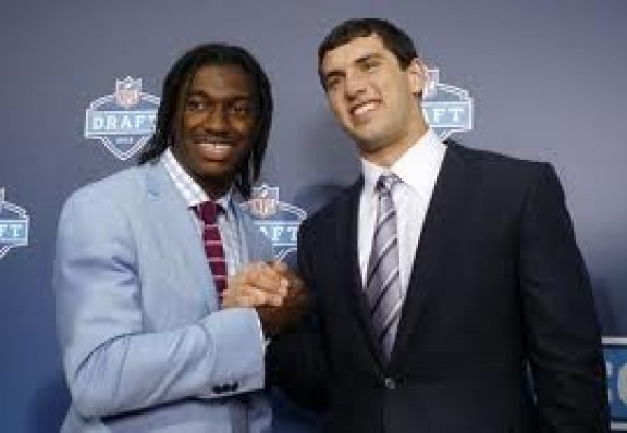 Andrew Luck Vs RGIII