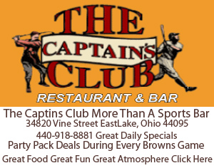 The Captins CLub eastlake Ohio