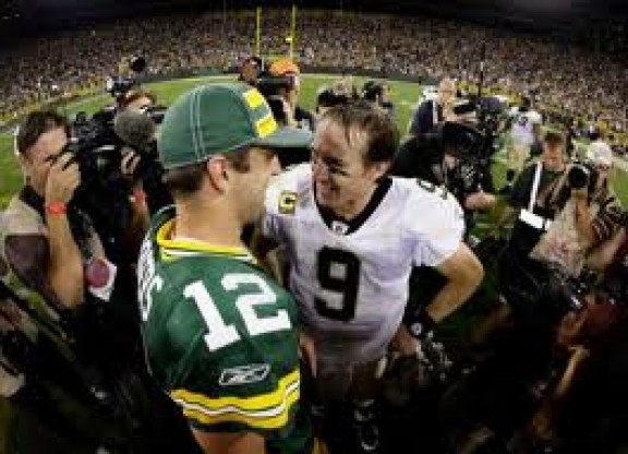 Drew Brees & Aaron rodgers