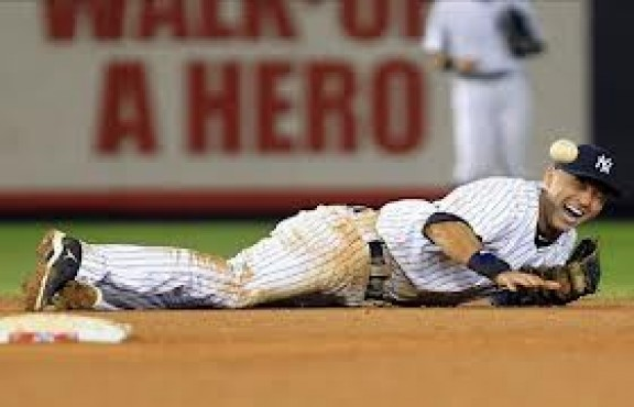 Jeter Broken Ankle