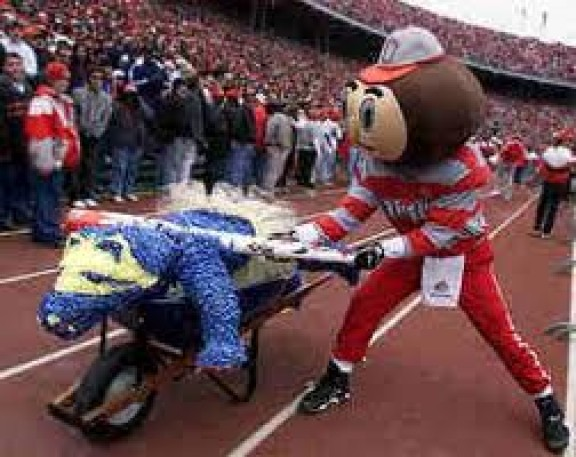 The Ohio State Buckeyes Vs Michigan Wolverines