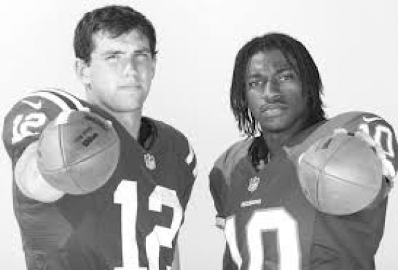 Andrew Luck & RGIII