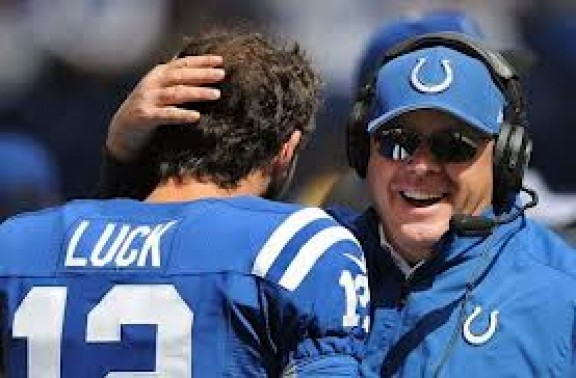 Andrew Luck & Bruce Arians