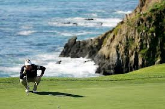 Brandt Snedeker At Pebble Beach