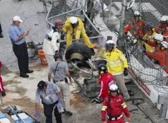 Daytona fans injured