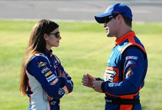 Danica Patrick & Ricky Stenhouse Jr.
