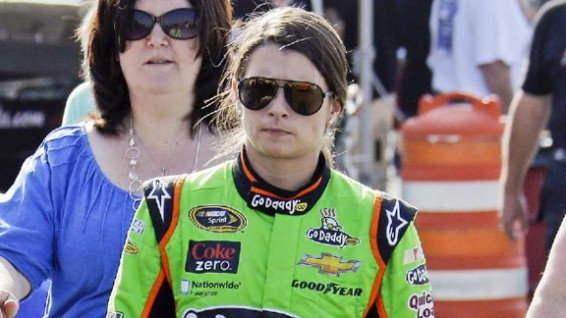 Danica at The Brickyard 400