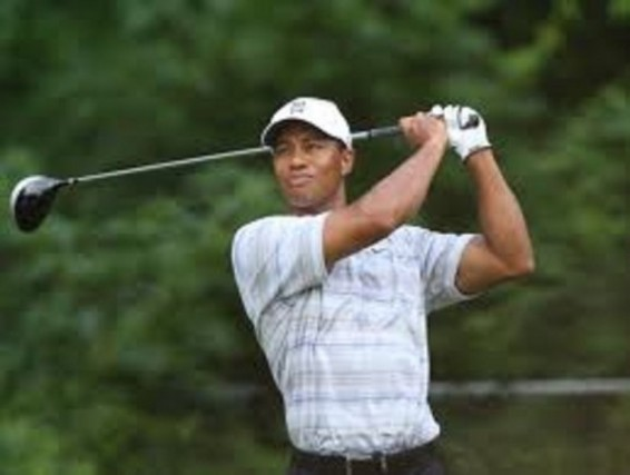 Tiger Woods 2 under at teh open