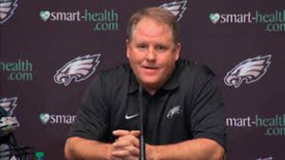 Chip Kelly eagles starter