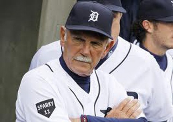 Jim Leyland's pitching staff