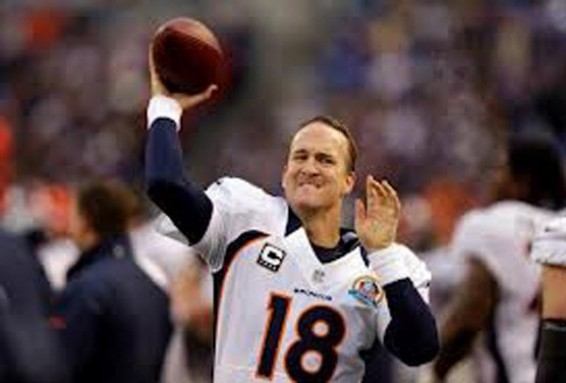 Peyton Manning has to carry the broncos