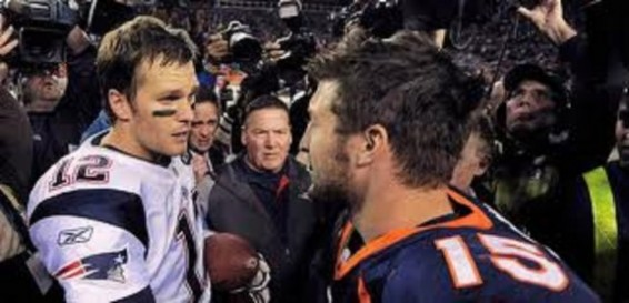 Tebow and Brady