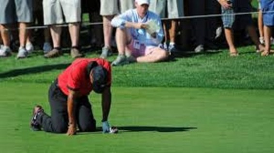 Tiger Woods back problems