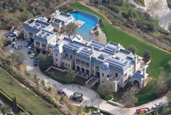 Brady's new house