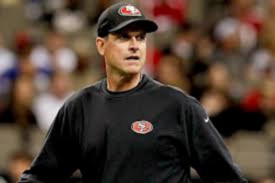 Jim Harbaugh get a win over green bay