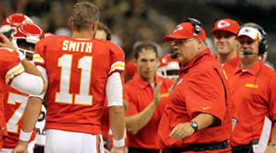 Alex Smith & chiefs undefeated