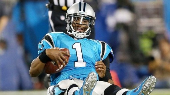 Cam Newton gets panthers pover .500
