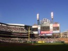 light go out at Comerica park
