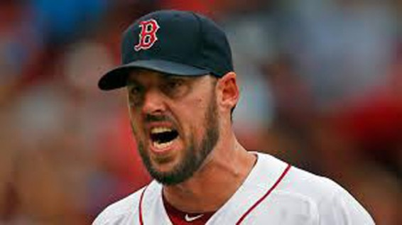 John Lackey get the world series win