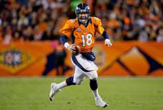 Manning takes broncos to 5-0