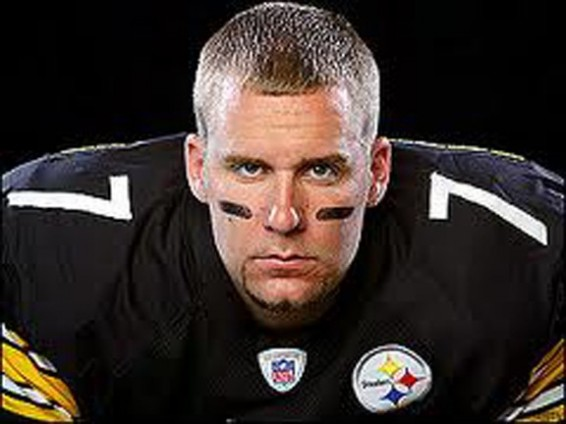 Ben Roethlisberger didn't look lazy today