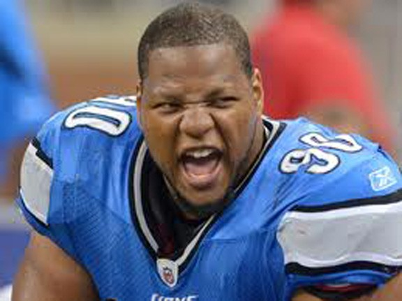 Ndamukong Suh gets safety