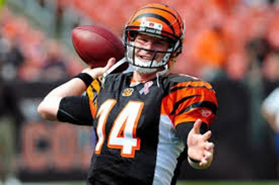 Andy Dalton can't lead the team in play offs