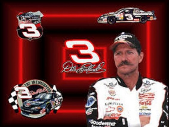 Dale Earnhardt Sr number 3