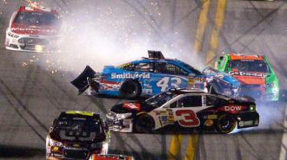 Danica Patrick Wreaks at the Daytona 500