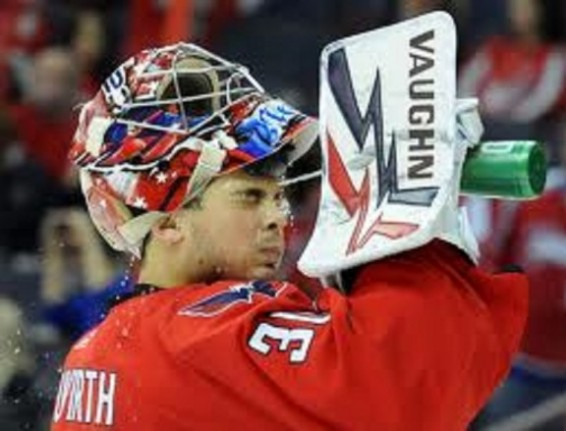 Michal Neuvirth in the NHL PLayoffs in 2011