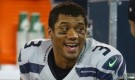 Russell WIlson took a shower at half time of the super bowl