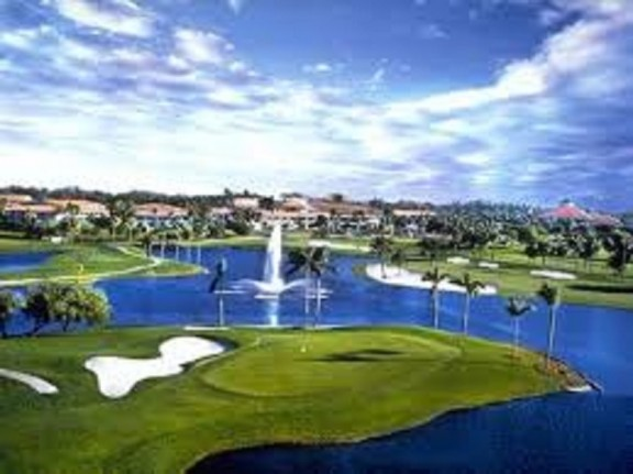 Doral with its Blue Monster