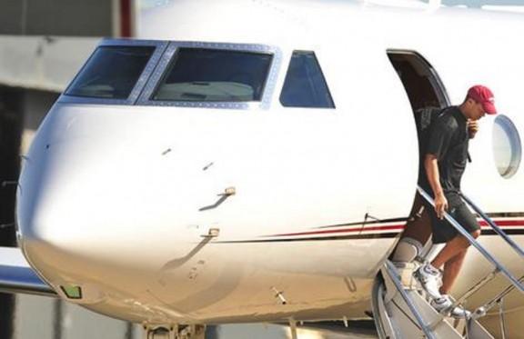 Tiger Woodsd Jet