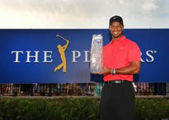 Tiger Woods at the players championship